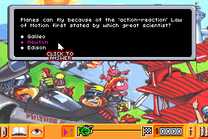 Quarky & Quaysoo's Turbo Science abandonware