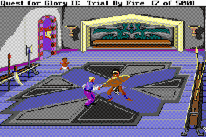 Quest for Glory II: Trial by Fire 9