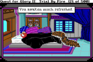 Quest for Glory II: Trial by Fire 5