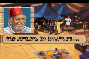 Quest for Glory III: Wages of War abandonware