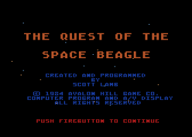 Quest of the Space Beagle 0