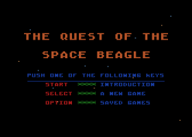 Quest of the Space Beagle 1