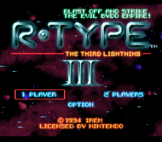 R-Type III: The Third Lightning 0