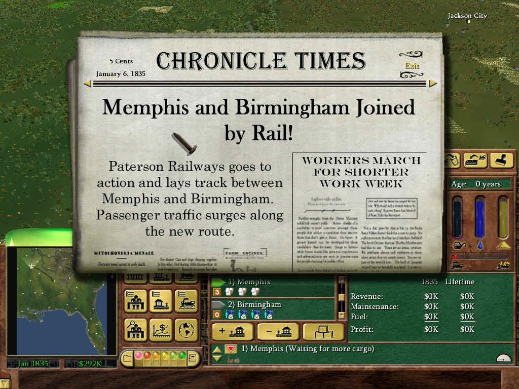 Railroad Tycoon 3 - My Abandonware