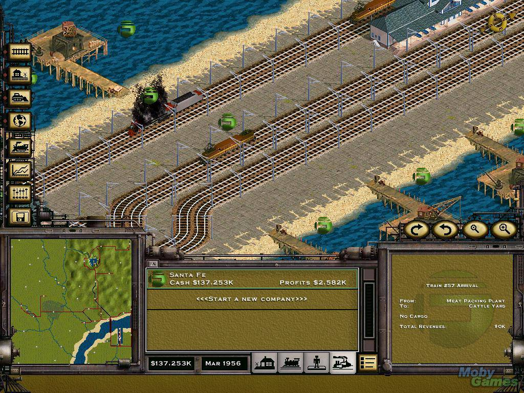 play railroad tycoon 2 online