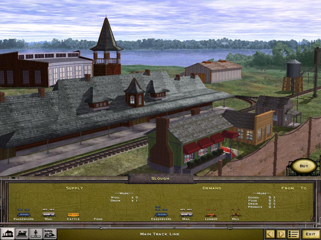 Railroad Tycoon II - My Abandonware