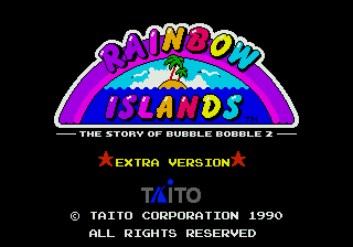Rainbow Islands Extra 0