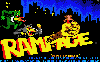 Download Rampage My Abandonware