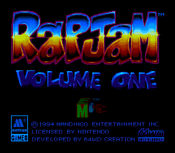 RapJam: Volume One 0