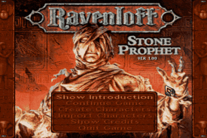 Ravenloft: Stone Prophet 0