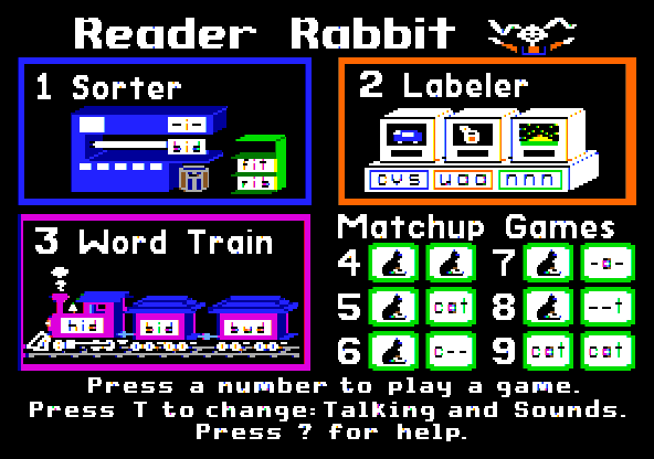 Reader Rabbit 4