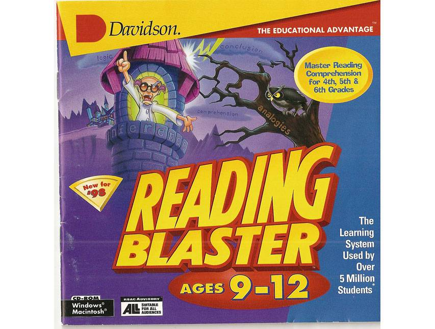 Reading Blaster Ages Software