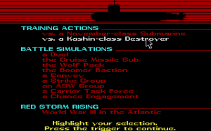 Red Storm Rising abandonware