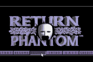 Return of the Phantom 1