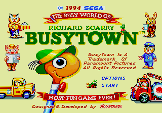 Richard Scarry's BusyTown 0