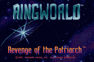 Ringworld: Revenge of the Patriarch 0
