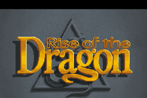 Rise of The Dragon 0