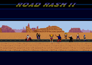 Road Rash II 12