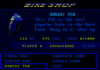Road Rash II 7