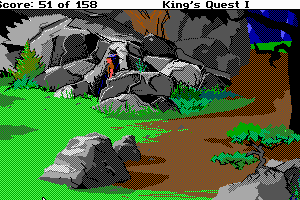 Roberta Williams' King's Quest I: Quest for the Crown abandonware