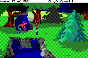 Roberta Williams' King's Quest I: Quest for the Crown 5