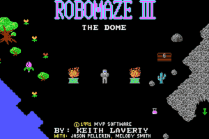 Robomaze III: The Dome 0