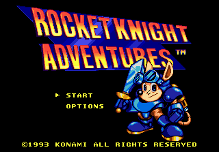Rocket Knight Adventures 0