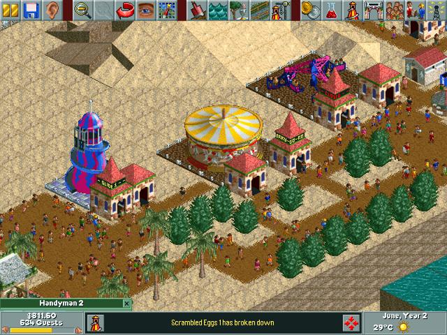 RollerCoaster Tycoon (Windows) - My Abandonware
