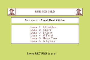 Run for Gold abandonware
