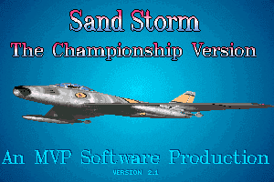 Sand Storm: The Championship Version 0