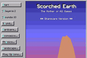 Scorched Earth abandonware