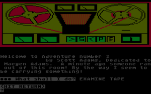 Scott Adams' Graphic Adventure #3: Secret Mission abandonware