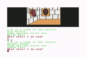 Scott Adams' Graphic Adventure #4: Voodoo Castle 11