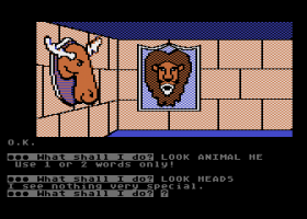 Scott Adams' Graphic Adventure #4: Voodoo Castle abandonware