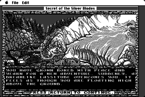 Secret of the Silver Blades 0