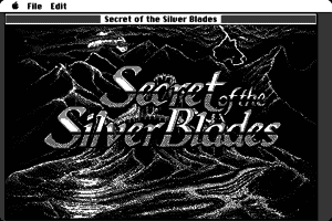 Secret of the Silver Blades 1