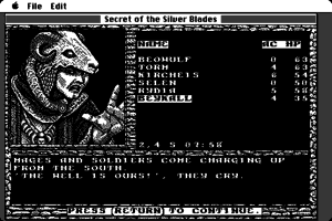 Secret of the Silver Blades abandonware
