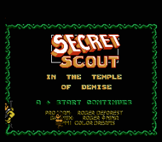 Secret Scout in the Temple of Demise 0