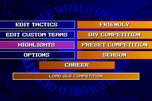 Sensible World of Soccer: European Championship Edition 2