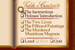 Sherlock Holmes: Consulting Detective - Volume II abandonware
