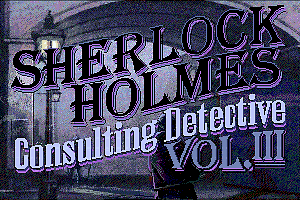 Sherlock Holmes: Consulting Detective - Volume III 1