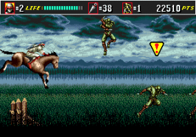 Shinobi III: Return of the Ninja Master abandonware