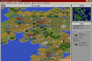 Sid Meier's Civilization II 0