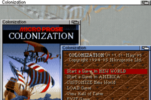 Sid Meier's Colonization 0