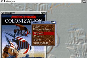 Sid Meier's Colonization 1
