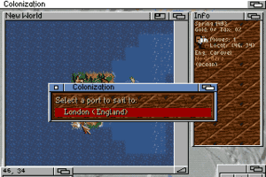 Sid Meier's Colonization 6