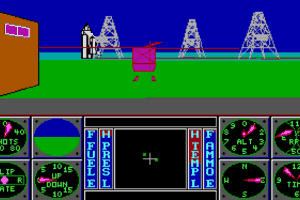 Sierra's 3-D Helicopter Simulator 15
