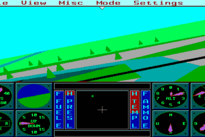 Sierra's 3-D Helicopter Simulator 4