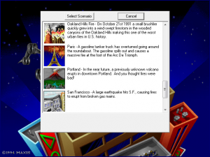 SimCity 2000 Scenarios Volume 1: Great Disasters abandonware