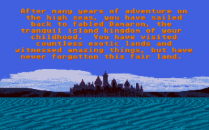 Sinbad and the Throne of the Falcon abandonware